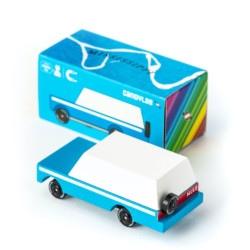 Holzspielzeugauto Mississippi Blue Mule von Candylab