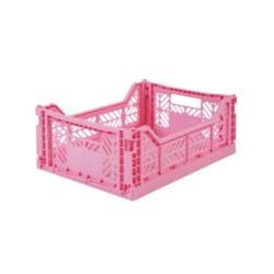 Klappkiste Midi Baby Pink von Ay Kasa auf www.mina-lola.com