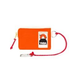 Mini Wallet Orange von YKRA auf www.mina-lola.com